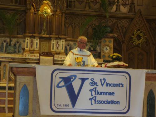 Mass 4 Father McNeill